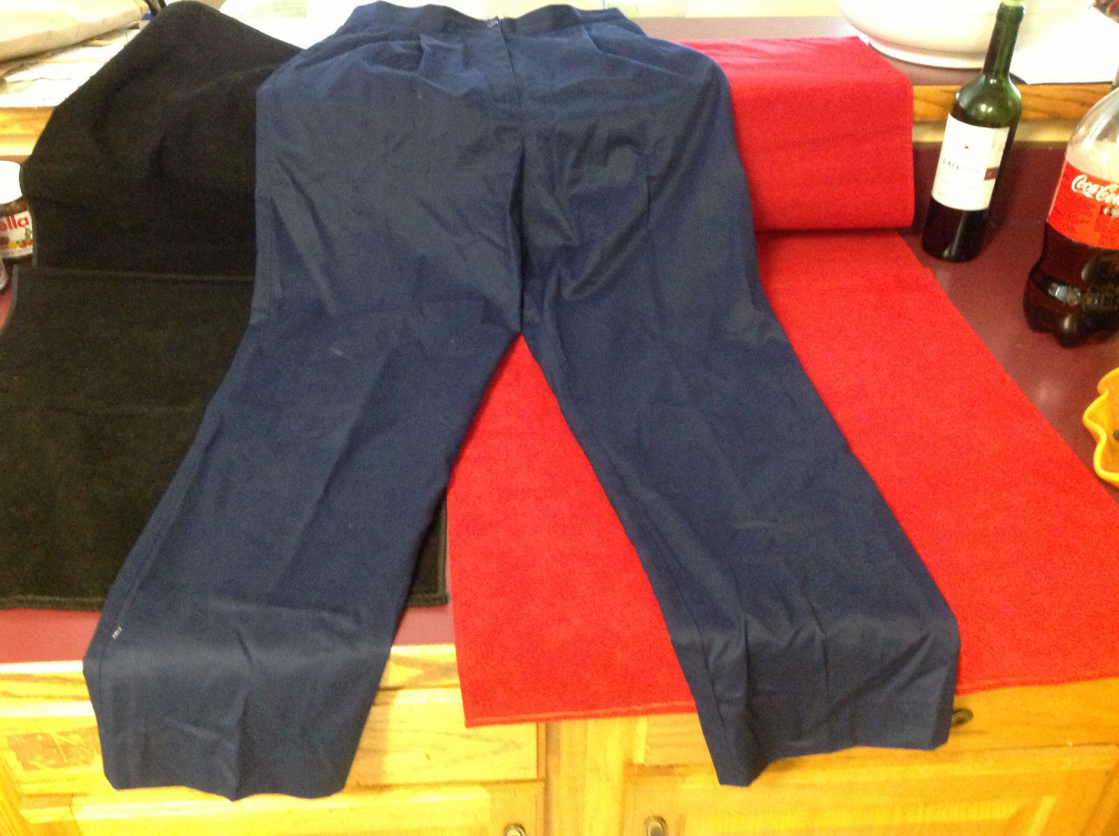 Liz Claiborne Lizsport Womens Pants Dark Navy Blue size 12
