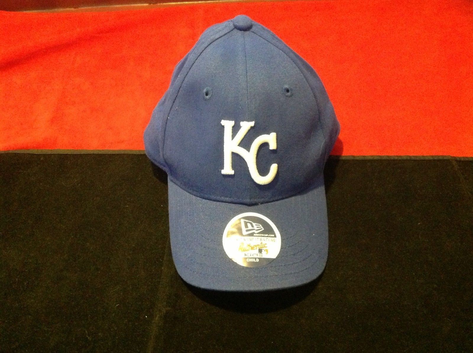 Nt Boy's blue hat white KC in front