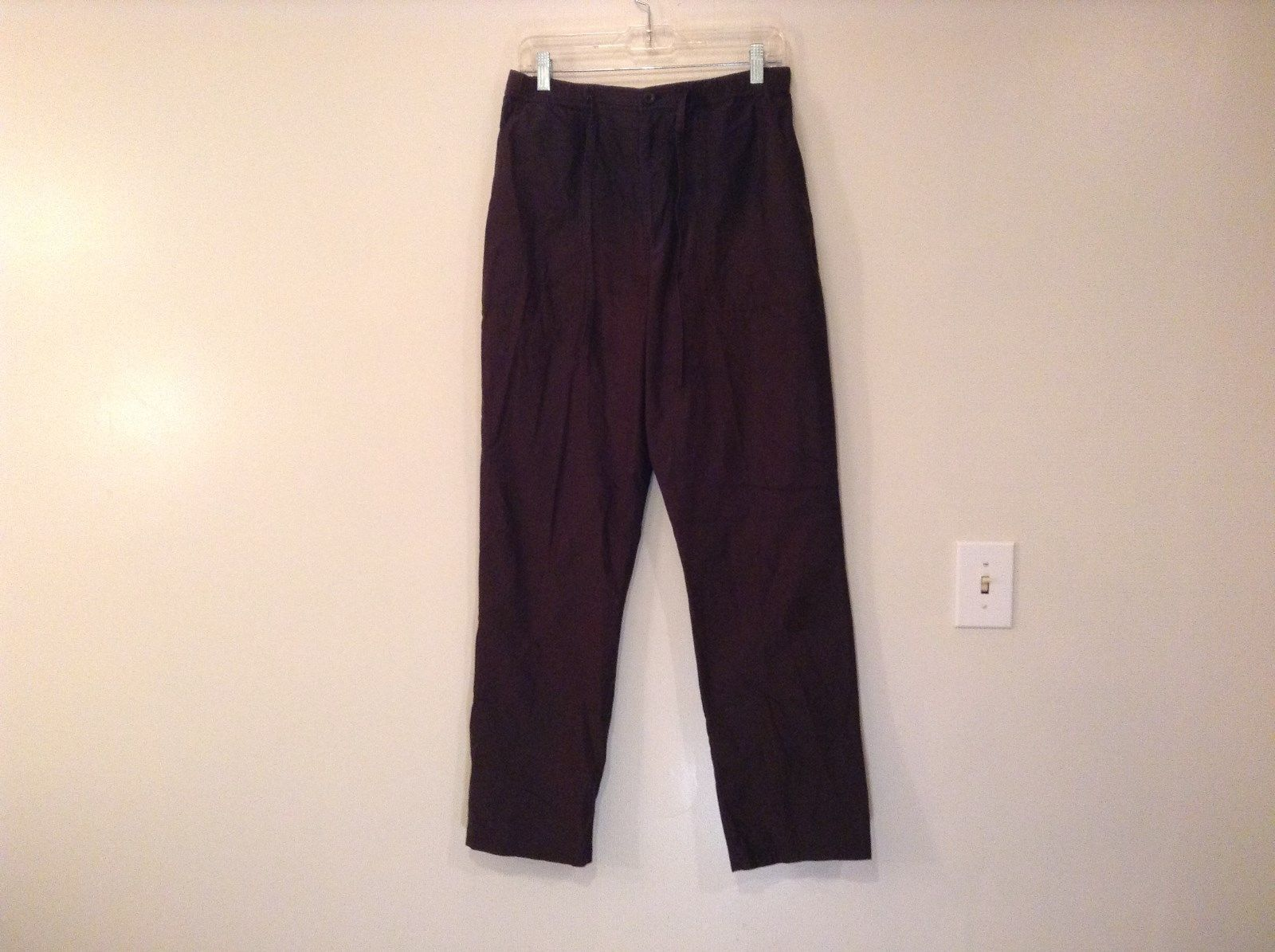 Northern Reflections Dark Brown Size M to L Sport Pants Adjustable Waist