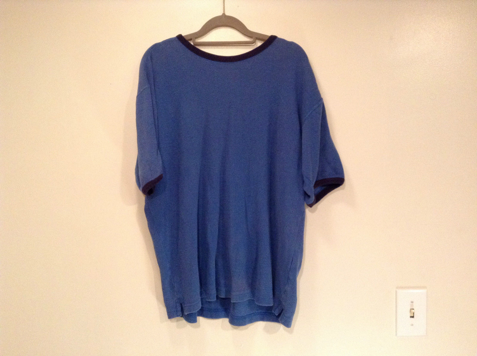 Northwest Territory Blue Short Sleeve Shirt Size Medium 100 Percent Cotton