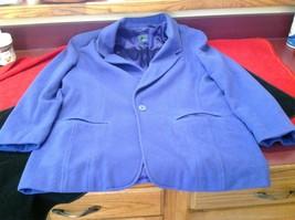 Liz wear Women's purple blazer size 4 made in Philippines
