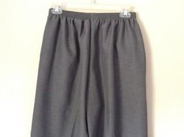 Alfred Dunner Light Gray Dress Pants Elastic Waistband Size 10 image 6