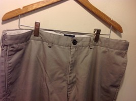 Lands End Men's Gray Dress Slacks Traditional Fit image 3