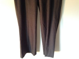Lands End Size 12 Brown Wool Dress Pants High Quality Fabric image 3