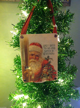 """Only Days to Go And Santa is Watching"" Christmas Countdown Hanging Wall Decor"