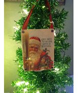"""Only Days to Go And Santa is Watching"" Christmas Countdown Hanging Wall... - $24.74"