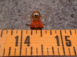 Micro miniature small hand blown yellow and black tiny happy bee  USA  NIB image 7