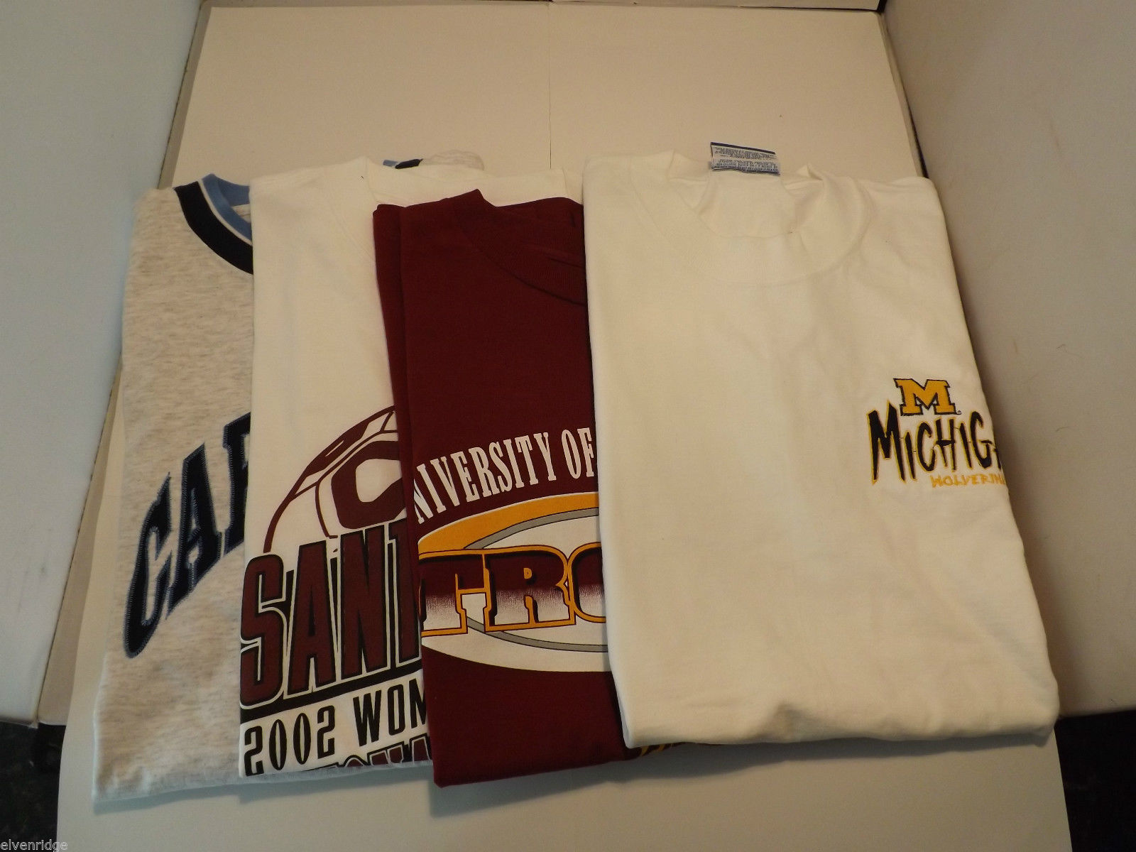Lot of 4 University Sports T-Shirts Size XL/XXL