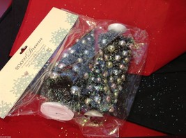 Miniature Christmas tree with ornaments perfect for office or apartment image 3