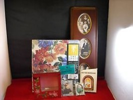 Lot of 6 Photo Frames and Display Items