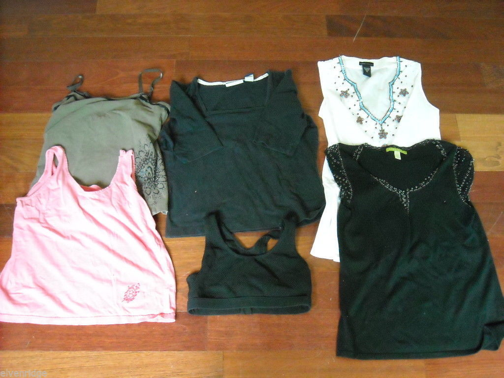 Lot of 6 Spring/Summer Woman's Tops Size XS/S