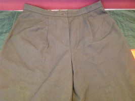 Louis Feraud Ladies Long Brown Pants Size 12