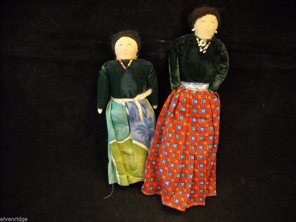 Pair of Antique Dolls