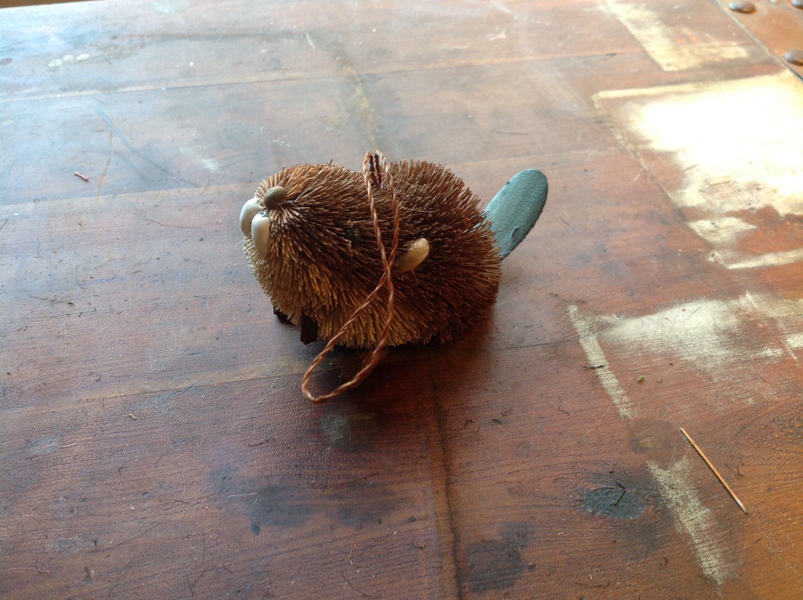 Palm Fiber Brown Beaver Brush Eco Fiber Sustainable Made in Philippines