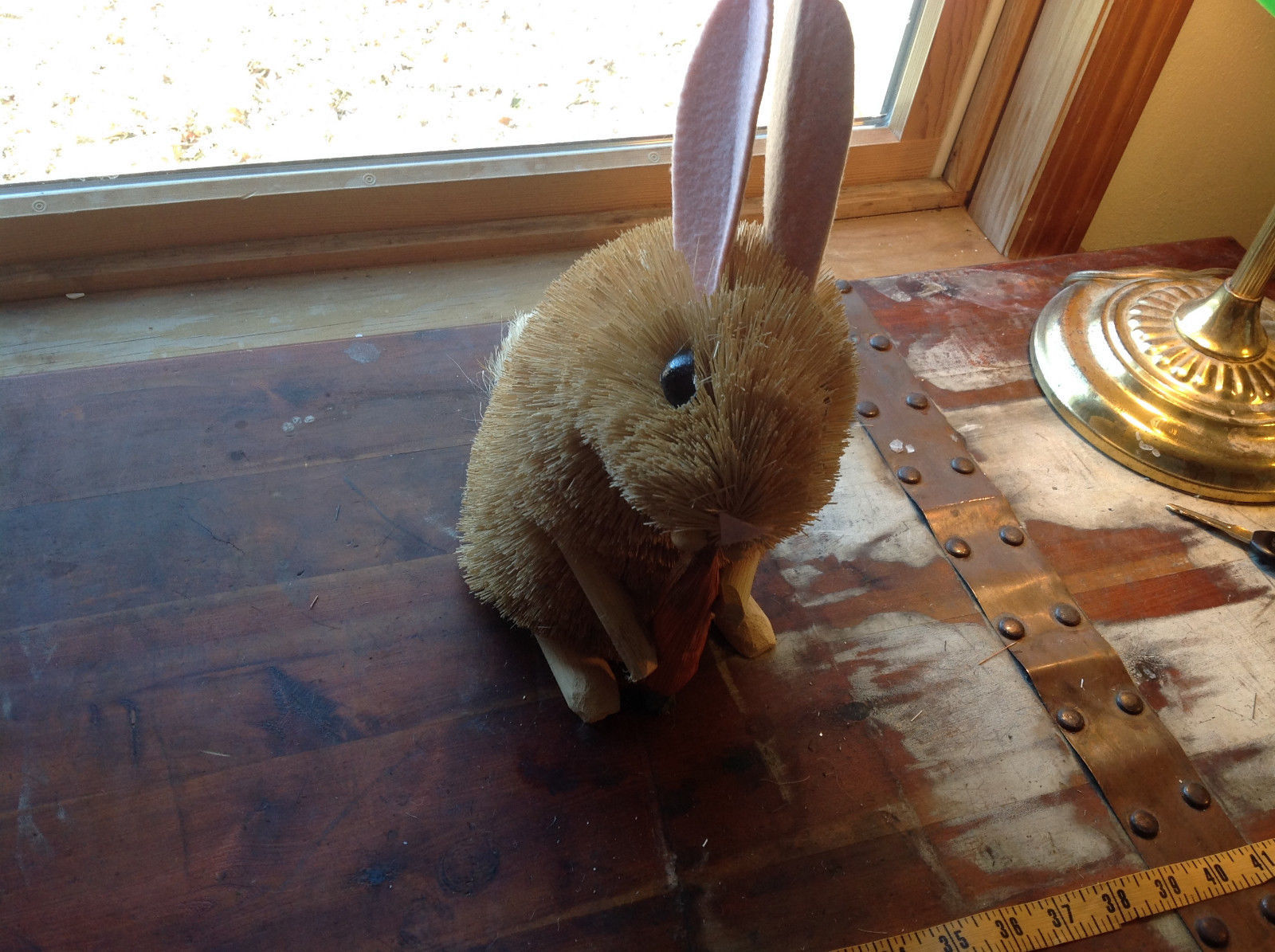 Palm Fiber Big Brown Rabbit Brush Eco Fiber Sustainable Made in Philippines