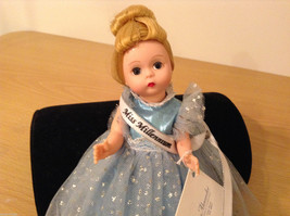 Madame Alexander Miss Millennium Collectible Doll Silver Blue Dress, no box