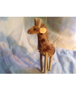 Palm Fiber Giraffe Brush Animal Eco Fiber Sustainable Ornament - $39.99