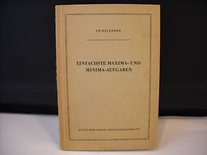 Paperback Booklet Math and School Book German 1955