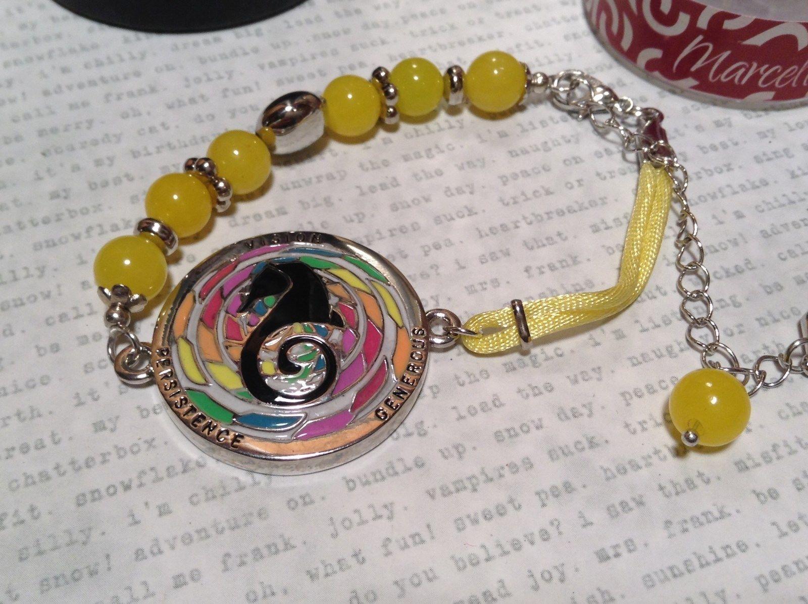 Mandala Seahorse Yellow Beads Marcella Bracelet Generous Persistence Vision