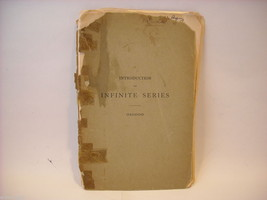 Math book from 1897 softcover booklet by William F. Osgood PhD
