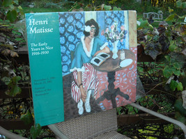 Matted Poster Reproduction The Early Years in Nice by Henri Matisse