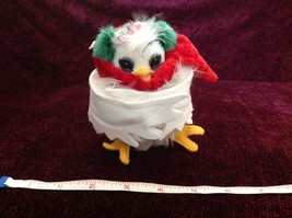 Analee Poseable Owl  Bird Decoration Made In USA New with Tag image 3
