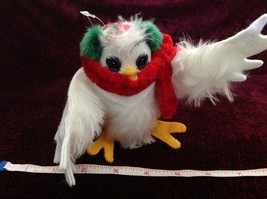 Analee Poseable Owl  Bird Decoration Made In USA New with Tag image 2