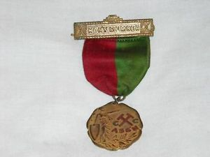 Medal C C Assn Honorary Member - Metal Relief Design