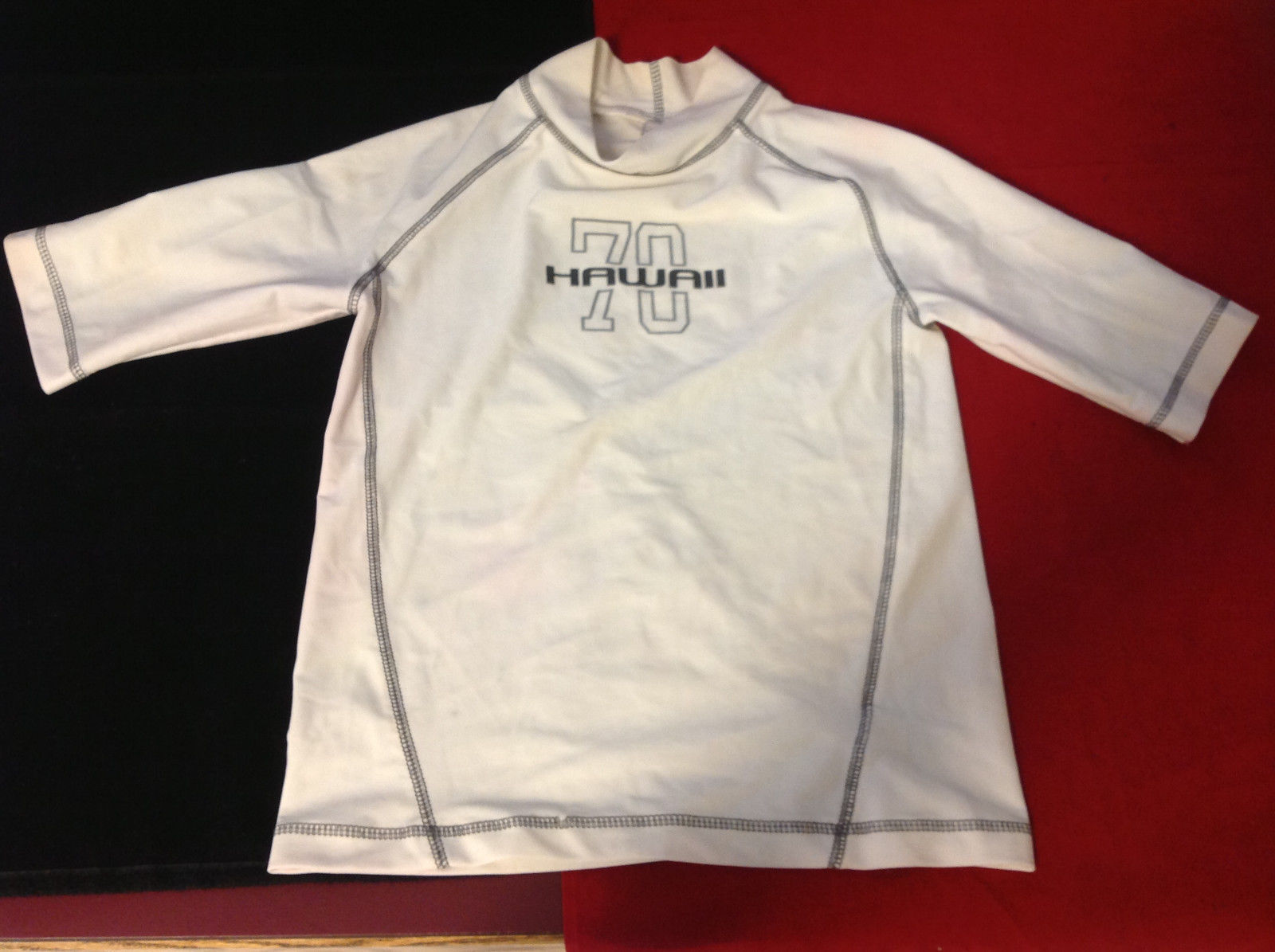 Mens Hawaii 70 Sport Soccer Football Jersey Uniform White Shirt size Medium M