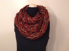 Large weave fashion INFINITY scarf w vintage look NEW in choice of colors image 8