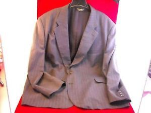 Men's Dark Grey Pinstripe Suit by Adam's Row