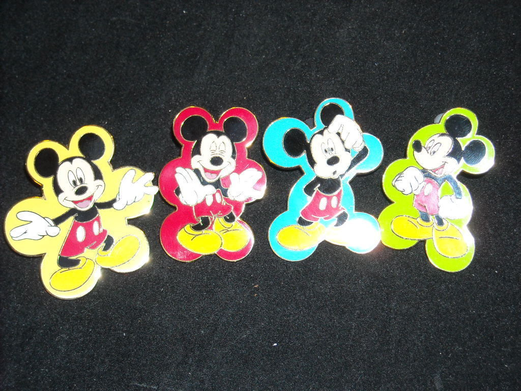 Mickey Mouse Expressions Pin Set Disney Collector Trader Pins