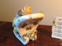 Mother with Child in Rocking Chair Porcelain Figurine The Touch by Vivi image 5