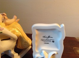 Mother with Child in Rocking Chair Porcelain Figurine The Touch by Vivi image 7