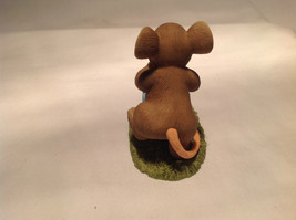 Mouse Pushing Cart Charming Tails Figurine Taking a Stroll with My Cute Chick image 7