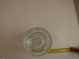 Lead Crystal 2 Piece Pedastal Candle Holder image 3