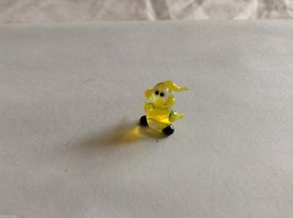 Micro Miniature small hand blown glass made USA NIB  mystery chick