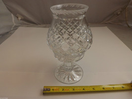 Lead Crystal 2 Piece Pedastal Candle Holder image 5