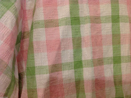 Alfred Dunner Woman Summer 100% Cotton Short Sleeve Plaid Shirt, Size 18W image 6