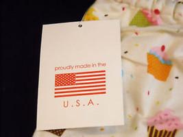 NEW Flannel 2 Piece Cupcake set w sleepmask image 4
