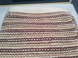 NEW Brown White and Tan Bath Rug by Whole Home 20 Inches by 32 Inches image 5