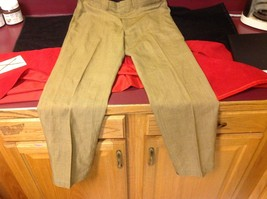 Lee Prest Long Brown Squared Colored Womens Dress Pants 12 Inch W 43 Inch L image 2