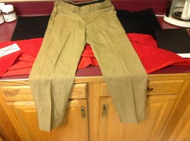 Lee Prest Long Brown Squared Colored Womens Dress Pants 12 Inch W 43 Inch L image 3