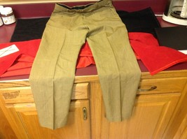 Lee Prest Long Brown Squared Colored Womens Dress Pants 12 Inch W 43 Inch L image 6