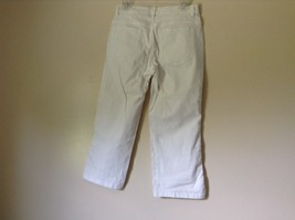 Lee Riveted Ultimate 5 White Capri Pants Size 8M image 7