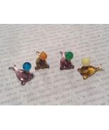 Micro miniature small hand blown glass seal balancing ball USA  NIB - $39.99