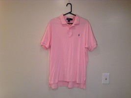 Polo by Ralph Lauren Pink Sizes L 100 Percent Cotton Short Sleeve Polo Shirt