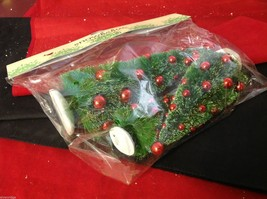Miniature Christmas tree with red ornaments perfect for office or apartment - $39.99