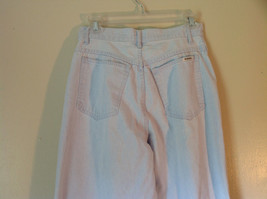 Light Blue Bill Blass 100 Percent Cotton Jeans Size 8 Front and Back Pockets image 4