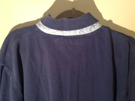 Navy Blue Short Sleeve Tommy Hilfiger Shirt with Collar and Buttons Size XL image 7